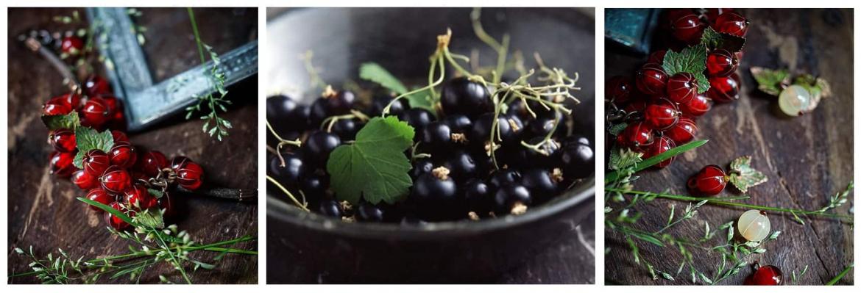 Парфуми з ароматом смородини, видатний аромат в чорній обгортці. - фото