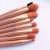 Набор кистей для макияжа Nude 8 in 1 Nude Pink - фото