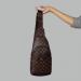 Сумка слим Louis Vuitton Jacob Клетка, коричневая 2140  - фото_2