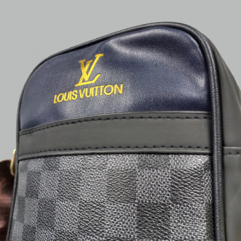 Мужская сумка Louis Vuitton Brian Клетка, черная 2229 - фото_3