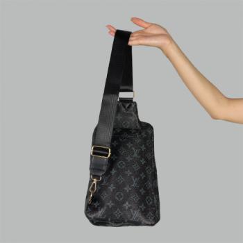 Сумка слим Louis Vuitton Avenue Черная 2262 - фото_2