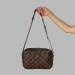 Сумка планшетка Louis Vuitton Duo Коричневая 2290 - фото_2
