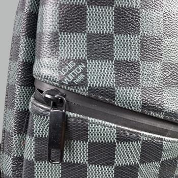 Сумка слим Louis Vuitton Austen Черная, клетка 2311 - фото_3