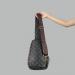 Сумка слим Louis Vuitton Austen Черная 2311 - фото_2