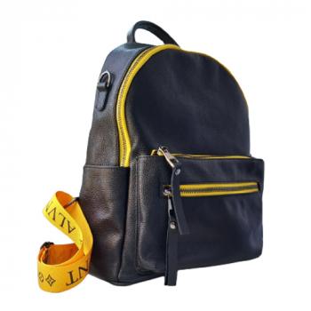 Рюкзак Monako Черный с желтым - фото