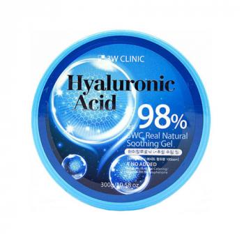 3W Clinic Hyaluronic Acid Natural Soothing Gel Универсальный гель с гиалуроновой кислотой - фото