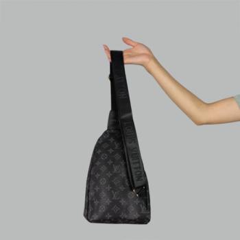 Сумка слим Louis Vuitton Felix Черная 7171 - фото_2