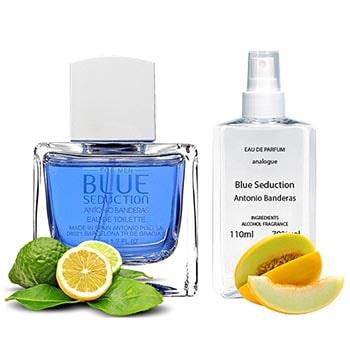 Antonio Banderas Blue Seduction For Men Парфюмированная вода 110 ml - фото