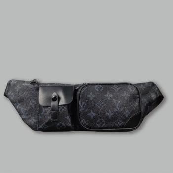 Поясная сумка Louis Vuitton Christopher Черная 2333 - фото_2