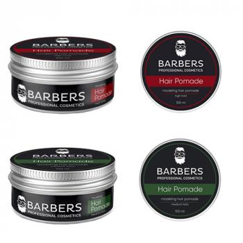 Barbers Modeling Hair Pomade Моделирующая помада для волос