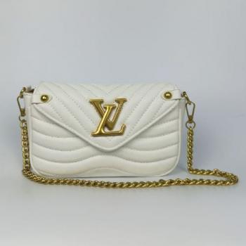 Сумка Louis Vuitton New Wave Multi Pochette White Snow Белая 7075 - фото_2