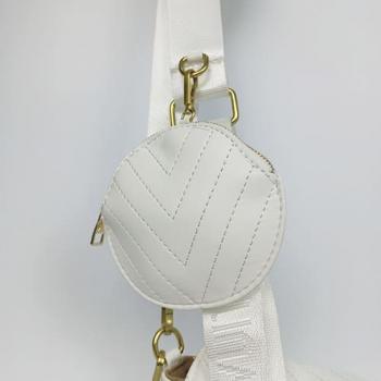 Сумка Louis Vuitton New Wave Multi Pochette White Snow Белая 7075 - фото_4