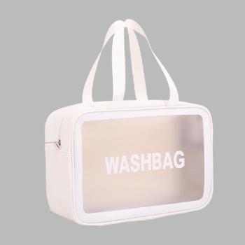 Косметичка Washbag Белая L - фото