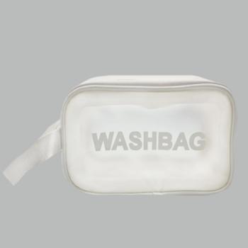 Косметичка Washbag Белая M - фото