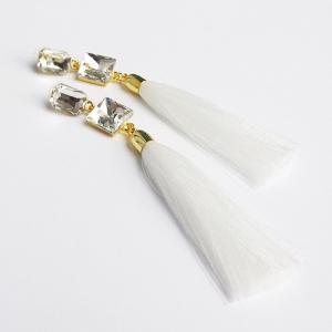 """Сережки """"Білий кристал"""""""