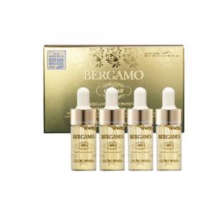 BERGAMO Luxury Gold Collagen Ampoule Ампульная сыворотка с экстрактом икры для витаминизации