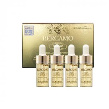 BERGAMO Luxury Gold Collagen Ampoule Ампульная сыворотка с экстрактом икры для витаминизации - фото