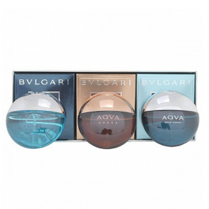 Подарунковий набір Bvlgari The Aqva Pocket Spray Collection