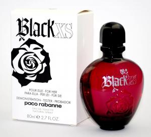 Paco Rabanne Black XS Women Туалетная вода 80 ml Тестер