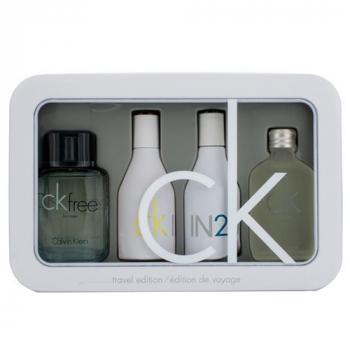 Подарочный набор Calvin Klein Travel Edition Perfum Set for Unisex - фото