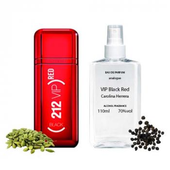 Carolina Herrera VIP Black Red Парфюмированная вода 110 ml