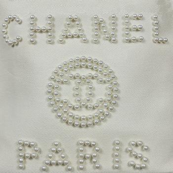 Сумка Chanel Fashion Classic White Pearl с жемчугом 2249 - фото_4