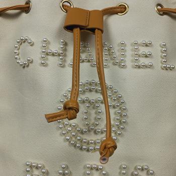 Сумка Chanel Fashion Classic White Pearl с жемчугом 2249 - фото_3