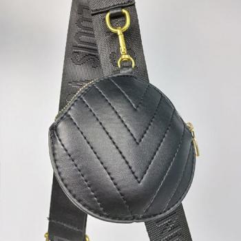 Сумка Louis Vuitton New Wave Multi Pochette Black Pearl 7075 - фото_4