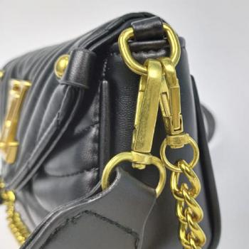Сумка Louis Vuitton New Wave Multi Pochette Black Pearl 7075 - фото_5