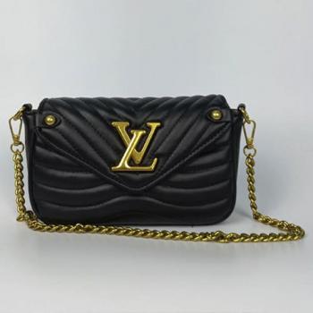 Сумка Louis Vuitton New Wave Multi Pochette Black Pearl 7075 - фото_2