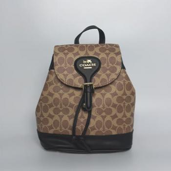 Рюкзак Coach Signature Evey Backpack Черный 0914 - фото_2