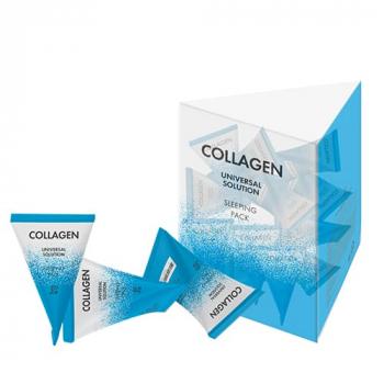 J:ON Collagen Universal Solution Sleeping Pack Ночная маска для лица с коллагеном - фото