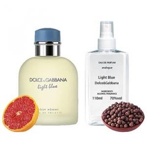 Dolce&Gabbana Light Blue For Man Парфюмированная вода 110 ml