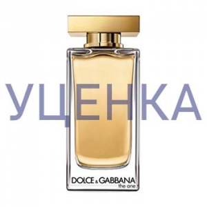 Dolce&Gabbana The One Eau de Toilette Туалетная вода 100 ml Уценка