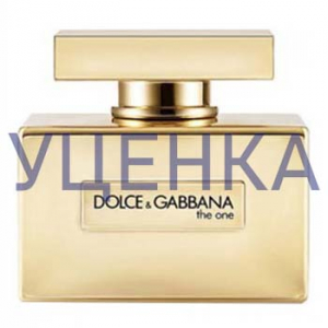 Dolce&Gabbana The One Gold Limited Edition Парфюмированная вода 75 ml Уценка