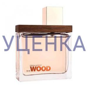 DSQUARED She Wood Парфюмированная вода 100 ml Уценка