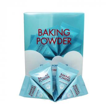 Etude House Baking Powder Crunch Pore Scrub Скраб для очищения кожи лица с пищевой содой - фото