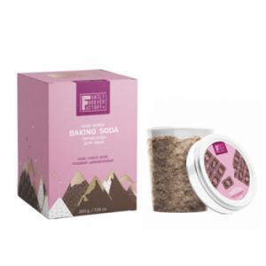 Family Forever Factory Baking Soda Face Scrub Rose Choco Dose Скраб-сода для обличчя Рожевий Шоколадний