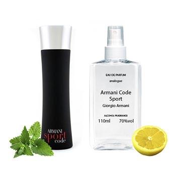 Giorgio Armani Armani Code Sport Парфюмированная вода 110 ml