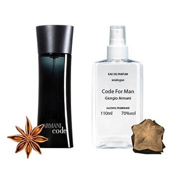 Giorgio Armani Code For Man Парфюмированная вода 110 ml - фото