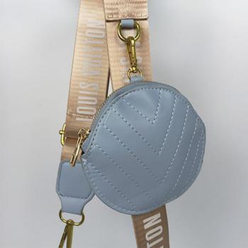 Сумка Louis Vuitton New Wave Multi Pochette Blue Sky Голубая 7075 - фото_4