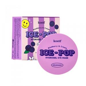 Koelf Blueberry&Cream Ice-Pop Патчи під очі з лохиною та вершками