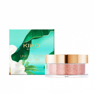 Kiko Unexpected Paradise Transforming Loose Top Coat Пудра-хайлайтер