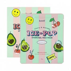 Koelf Cherry&Avocado Ice-Pop Hydrogel Face Mask Гідрогелева маска для обличчя