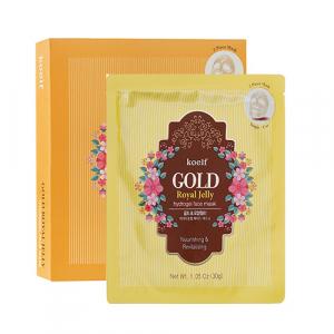 Koelf  Gold&Royal Jelly Face Mask Гідрогелева маска для обличчя