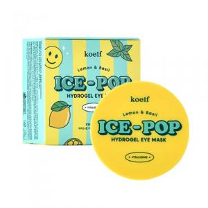 Petitfee & Koelf  Lemon&Basil Ice-Pop патчі під очі з лимоном і базиліком