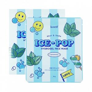 Koelf Mint & Soda Ice-Pop Hydrogel Face Mask Гідрогелева маска для обличчя