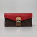 Кошелек Louis Vuitton Emilie Красный 8654 - фото_2