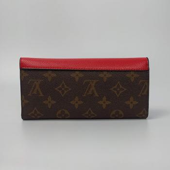 Кошелек Louis Vuitton Emilie Красный 8654 - фото_3