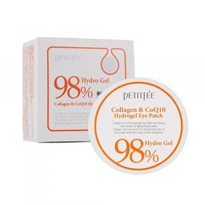 Petitfee&Koelf Collagen&CoQ10 Патчі для очей з колагеном і коензимом